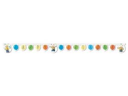 Banner Happy birthday Mimoni