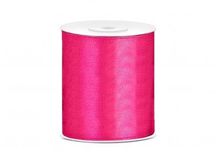 Saténová stuha ružová 100mm/25m