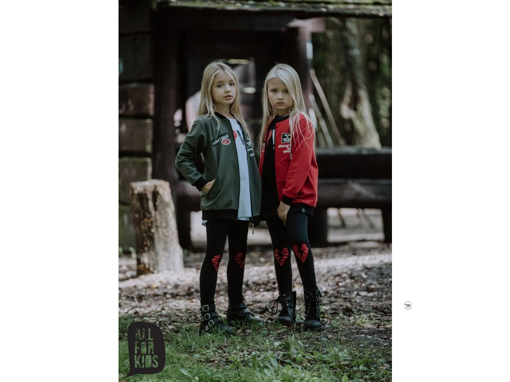 Dívčí mikina khaki All for kids