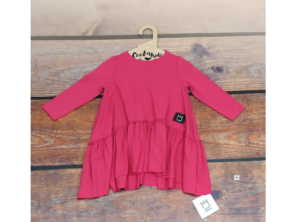 Dívčí šaty dlouhý rukáv