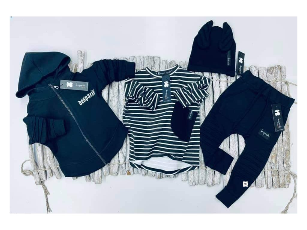 Chlapecké triko Despacito bílo-černé