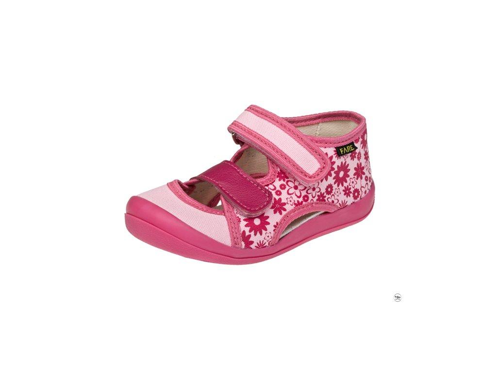 Textilní sandálky Fare 4118451