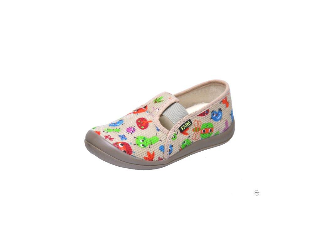 Dětské bačkúrky na gumičku Fare  4111485