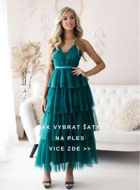 Jak vybrat šaty na ples