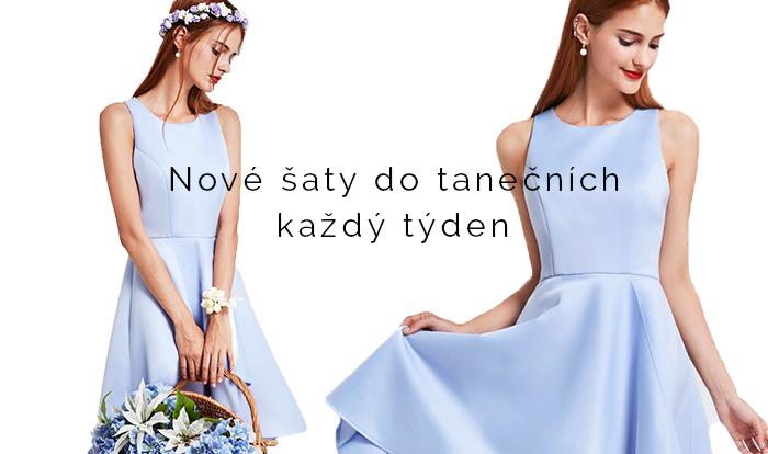 nové šaty do tanečních