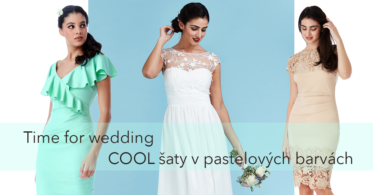 šaty pro družičky a šaty na svatbu