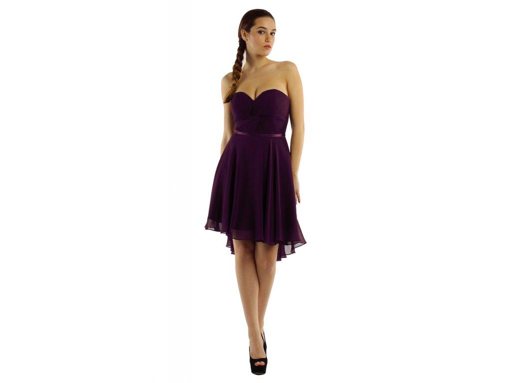 f1ead373d45e CD šaty pro družičky fialové