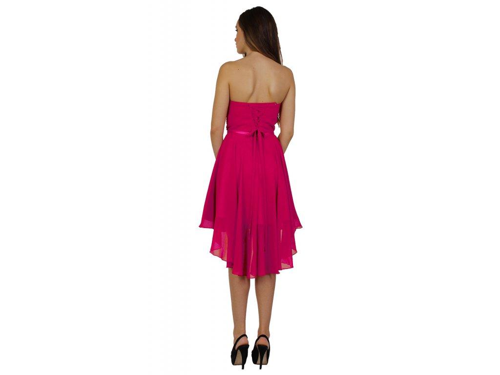 905eb9b16e4e CD šaty pro družičky magenta - Coolboutique
