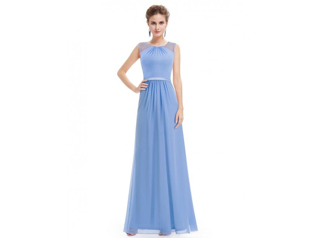 Ever Pretty bílé šaty s perličkami - Coolboutique 0f004c0b40