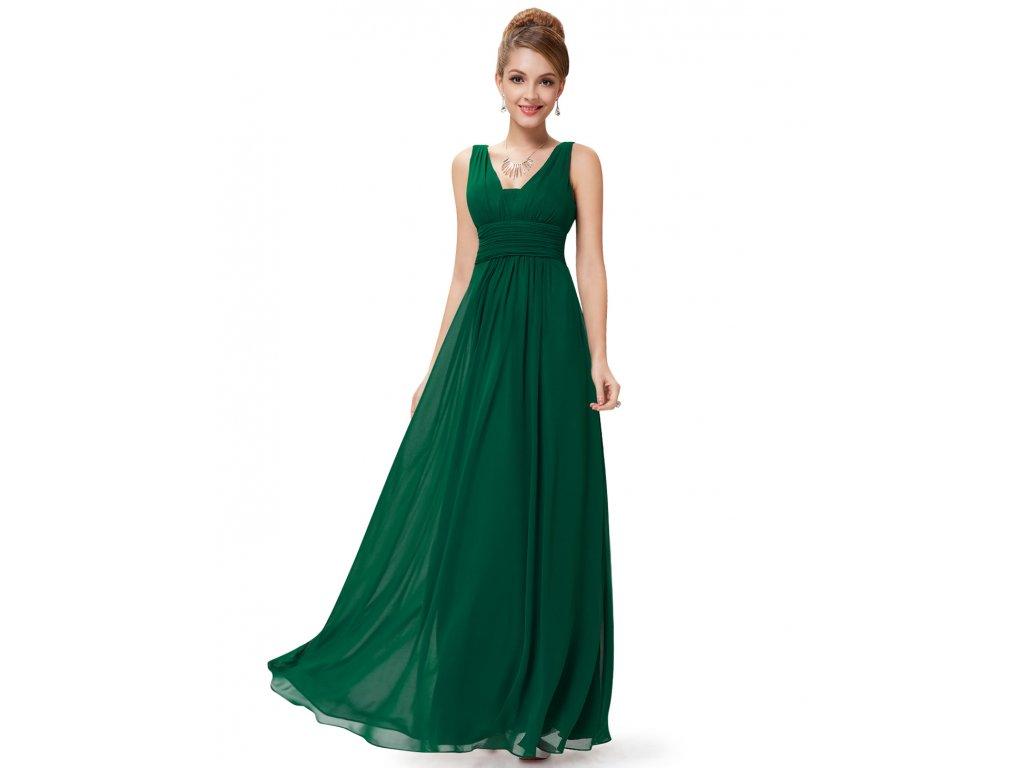 5f8dc9e28f3 Ever Pretty společenské šaty v zelené barvě