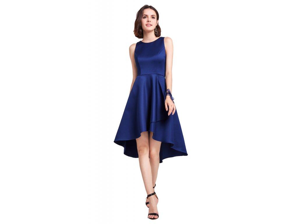 6af0353d817b Krátké modré společenské šaty - Coolboutique