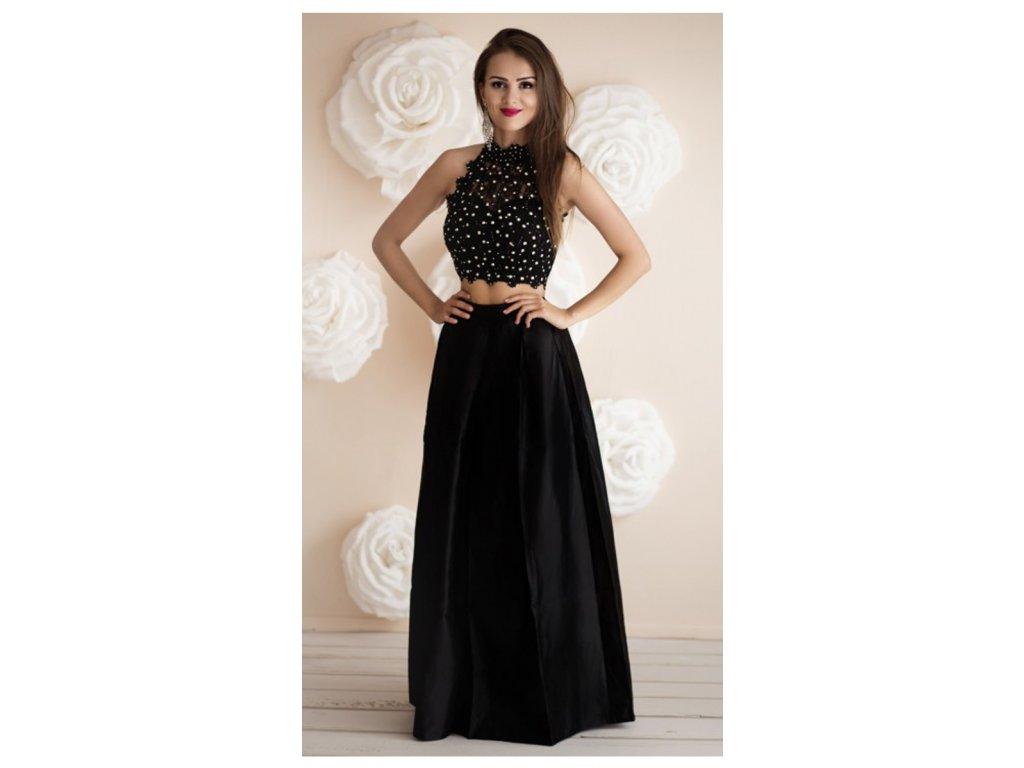 ELLEA dvoudílné plesové šaty - Coolboutique b5a21813e0c