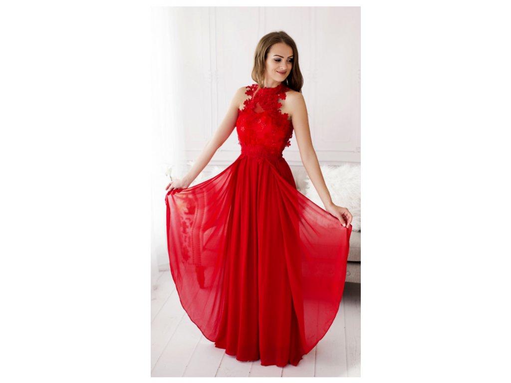 c0a806faaa63 Plesové šaty Oly červené - Coolboutique