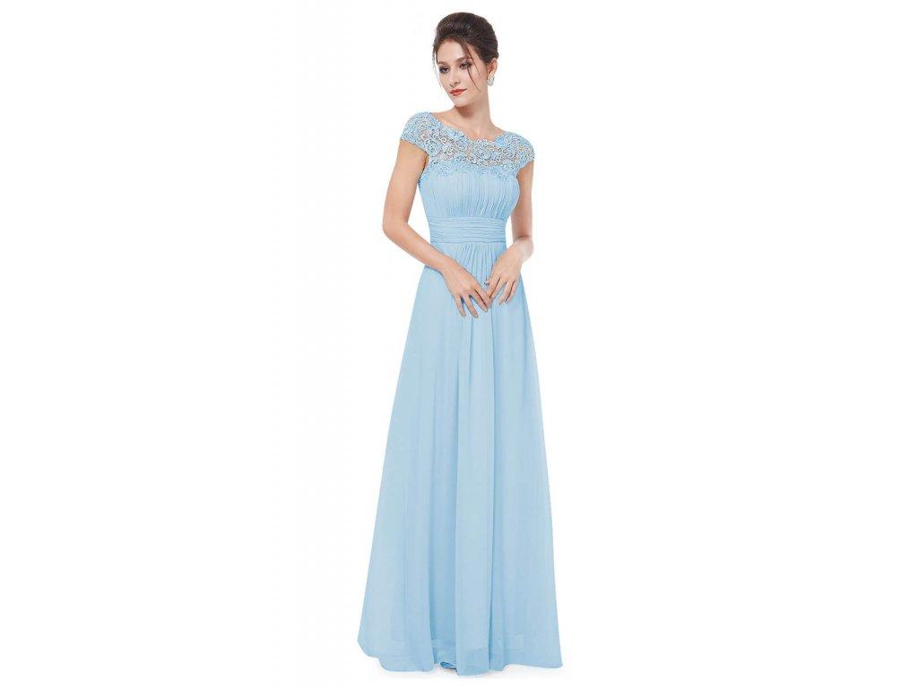 206fc584be95 Světle modré šaty pro družičky