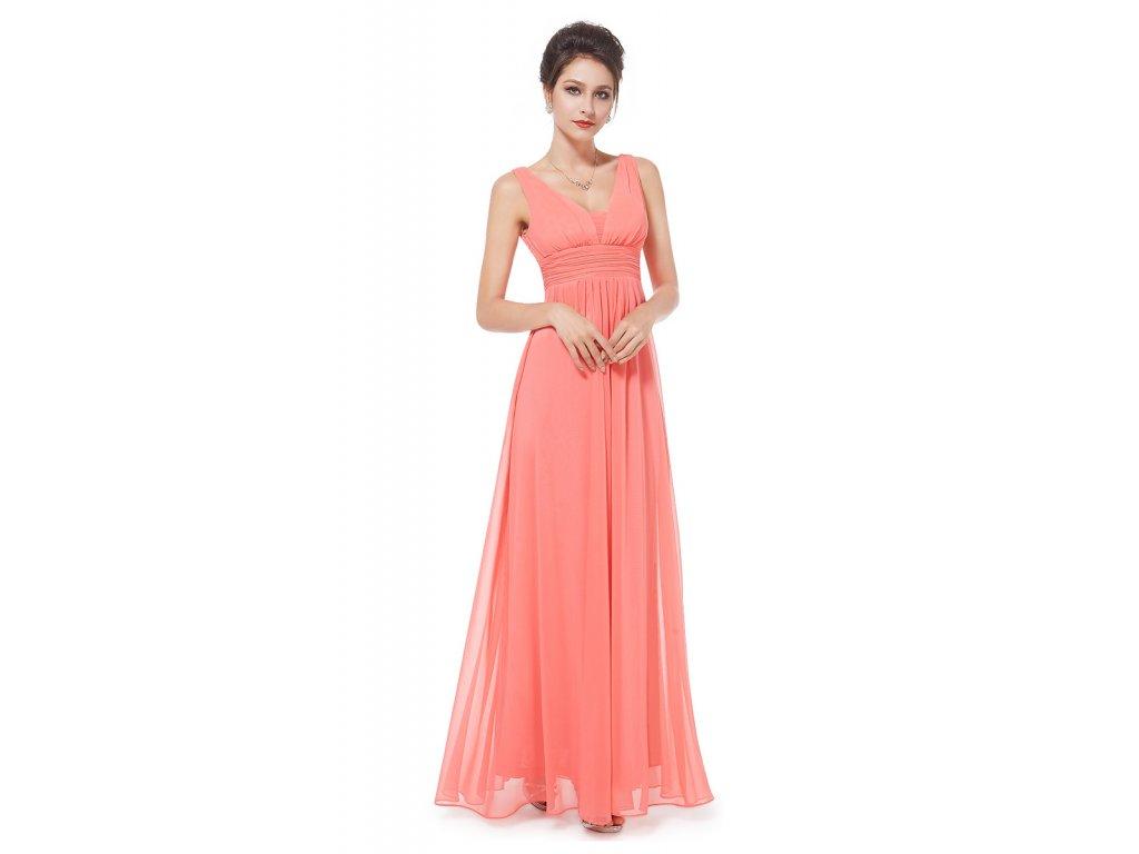 6fc17f696e8a Korálové družičkovské šaty Ever Pretty