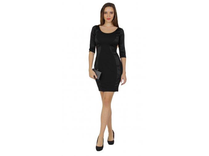Koktejlové šaty malé černé
