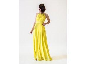 Žluté šaty pro družičky
