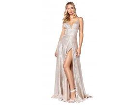 krásné stříbrné šaty