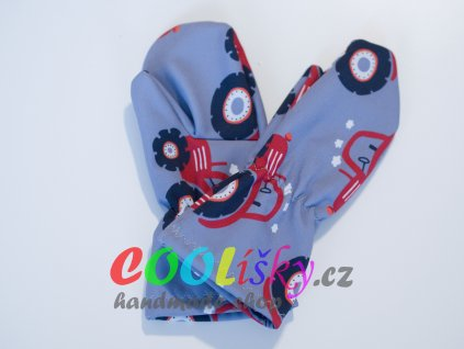 Softshellové rukavice klučičí taktor