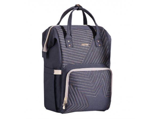Mateřský přebalovací batoh černý