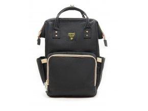 Praktický přebalovací batoh pro maminky černý
