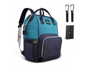 Přebalovací batoh modrý
