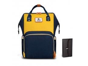 Přebalovací batoh modrožlutý
