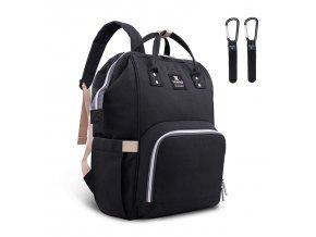 Přebalovací batoh černý II