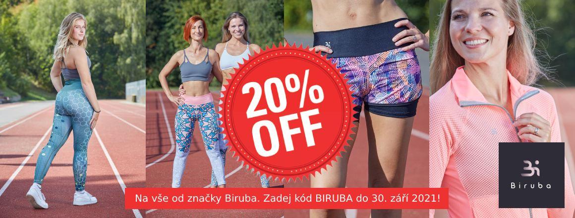 Sleva 20 % na značku Biruba!