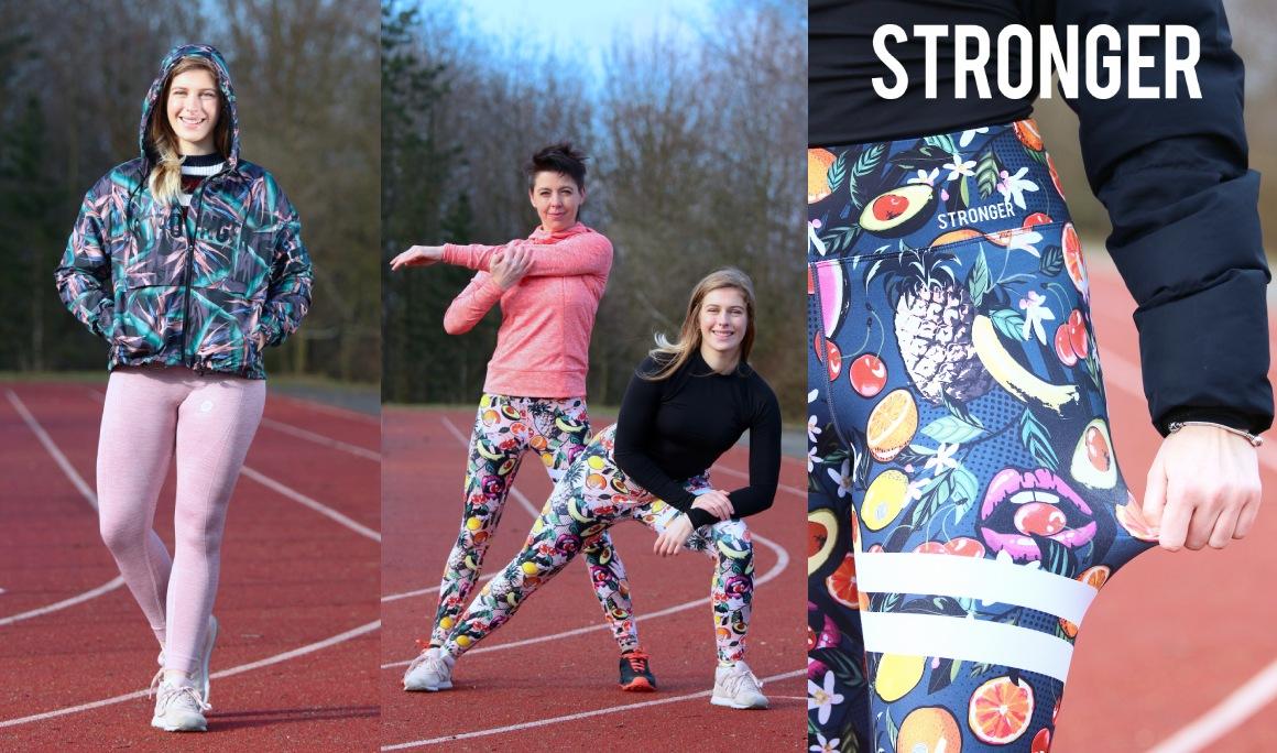 Legíny a bunda Stronger na eshopu Cool Pohyb