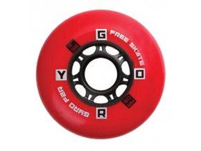 GYRO F2R WHEEL X1 85A  červené  NOVINKA