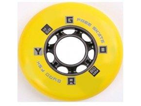 GYRO F2R WHEEL X1 85A  žluté  NOVINKA