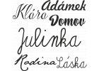 Jména a nápisy
