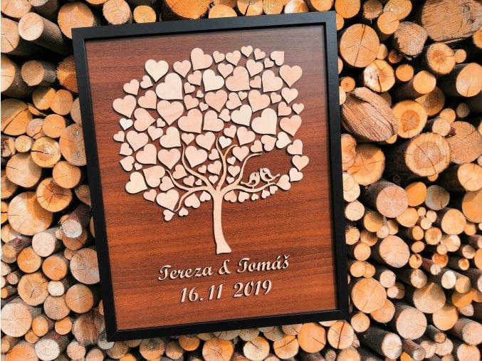 Srdcový strom nepravidelný