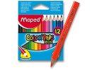 Pastelky trojhranné MINI - 12ks, MAPED, Color Peps