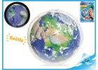 Míč nafukovací Země-svítící