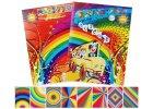 Papír - A4, barevný, sada 8 listů - šílený, 1. edice