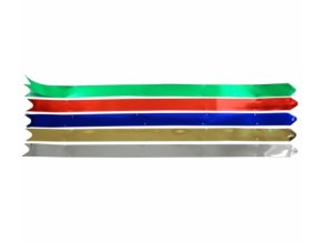 Stuha stahovací - 65x3cm, metal
