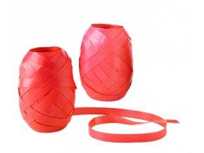 Stuha vázací - 20m, obyčejná, červená