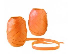 Stuha vázací - 20m, obyčejná, oranžová