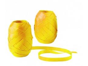 Stuha vázací - 20m, obyčejná, žlutá