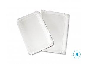 Tácek - papírový, č. 4, 130x200mm