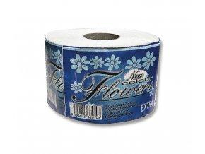 Toaletní papír - FLOWERS, extra solo