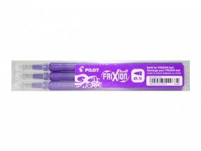 Náplň FRIXION do přepisovacího rolleru - POINT, 0,5mm, fialová, 3ks