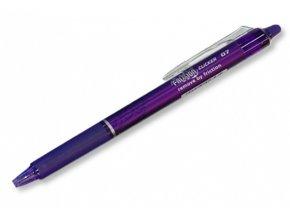 Přepisovatelný roller FRIXION CLICKER - fialový