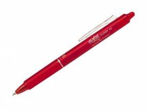 Přepisovatelný roller PILOT FRIXION CLICKER - červený, 0,5mm