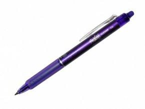 Přepisovatelný roller PILOT FRIXION CLICKER - fialový, 0,5mm
