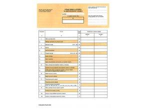 A1124 - Výkaz zisků a ztrát ve zkráceném rozsahu
