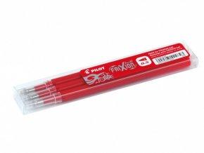 Náplň PILOT FRIXION CLICKER do přepisovatelného rolleru - červená, 0,5mm, 3ks