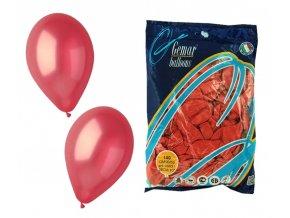 Balónek METAL - červený